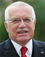 Bohaterski Prezydent Czech Vaclav Klaus