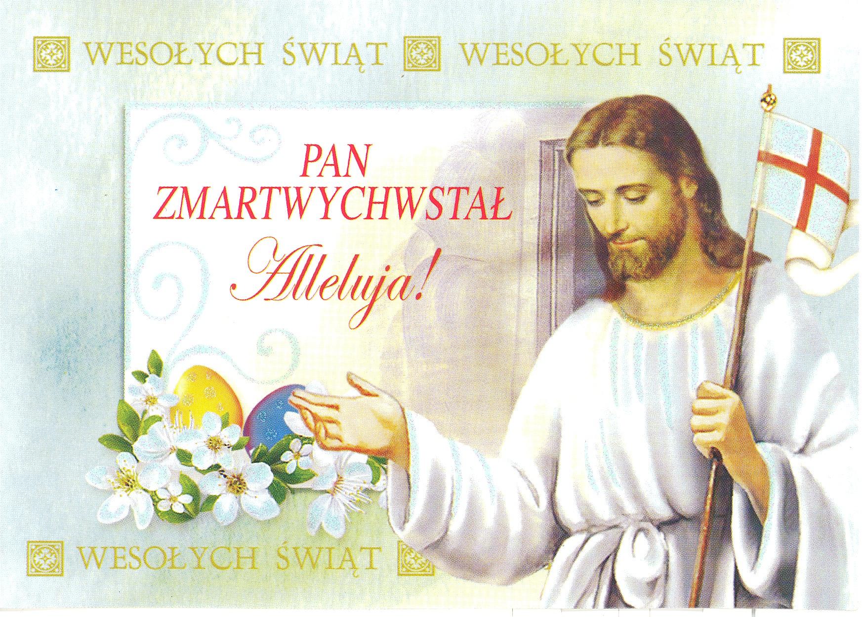 Znalezione obrazy dla zapytania życzenia świąteczne chrystus zmarchwystał